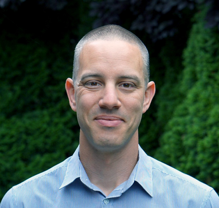 PhD student Matthew Noestheden.