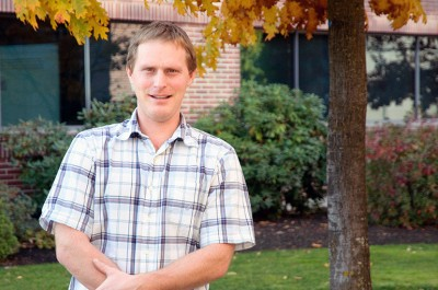 Wesley Zandberg, assistant professor of chemistry at UBC's Okanagan campus.