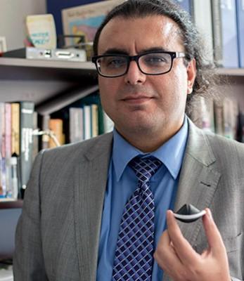 UBC Okanagan Professor Hadi Mohammadi