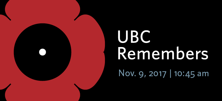 Remembrance Day 2017