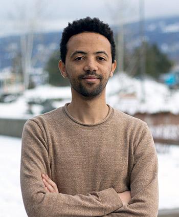 UBC Okanagan Engineering student Yekenalem Abebe.