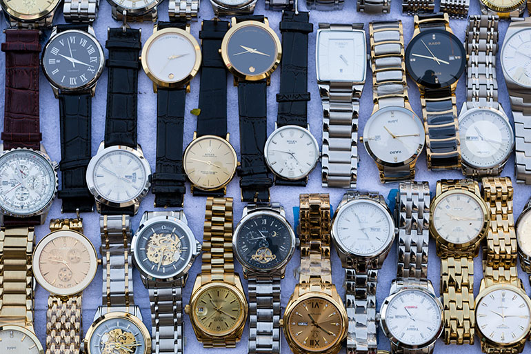 Fake and counterfeit wristwatches
