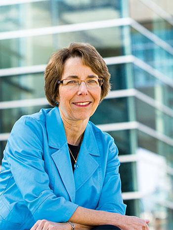 Joan Bottorff, director of UBC Okanagan's Institute for Healthy Living and Chronic Disease Prevention and professor of nursing.