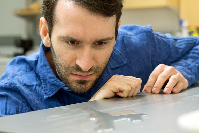 UBC engineer Kevin Golovin says ice buildup may become a thing of the past.