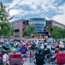 An estimated 800 concert-goers enjoy Opera Under the Stars at UBC Okanagan