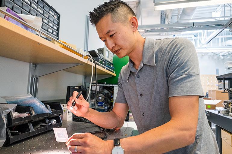 Kenneth Chau, associate professor of engineering at UBC Okanagan.