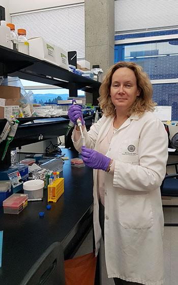 Christina Haston, associate professor of medical physics.
