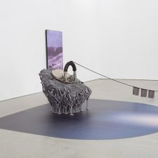 This installation by Timur Si-Qin titled East, South, West, North, was recently on display in Beijing.