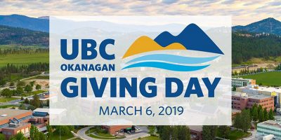 UBC Okanagan hosts first-ever Giving Day