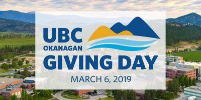 UBC Okanagan hosts first-ever Giving Day