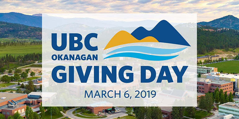 UBC Okanagan Giving Day