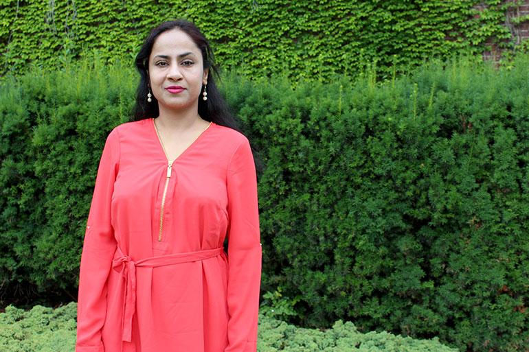 Romi Jain, a postdoctoral fellow with UBC Okanagan's Faculty of Management.