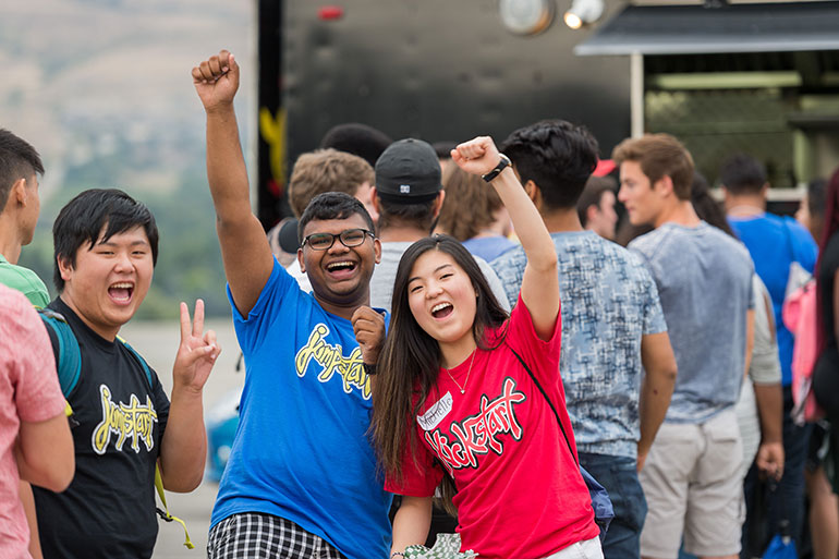 Each year, UBCO organizes a number of activities during Jump Start as the first step in making international students feel at home.