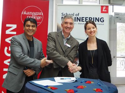 Foresight Cleantech collaborates with Okanagan College and UBC