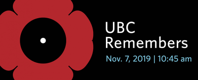 UBCO community to host public Remembrance Day event