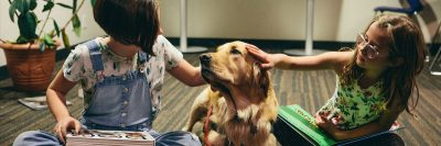 New research demonstrates dogs promote page turning