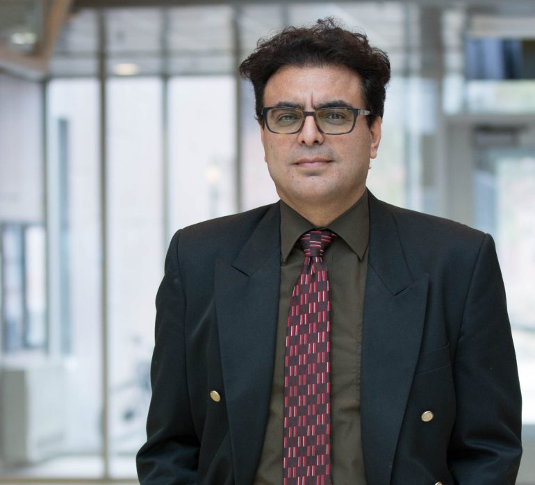 Hadi Mohammadi is an assistant professor at UBC's School of Engineering.