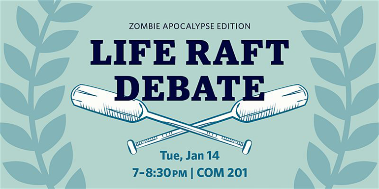 Life Raft Debate graphic