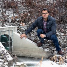 UBCO doctoral student Saeed Mohammadiun says many urban drainage and stormwater systems are not designed well enough to handle extreme weather conditions.