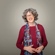 Nancy Holmes, poet and associate professor in UBC Okanagan's Faculty of Creative and Critical Studies.