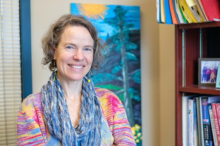 Rebecca Tyson, associate professor of mathematical biology.