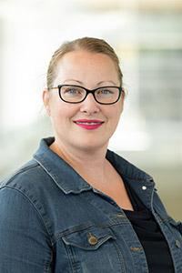 Deanna Gibson, associate professor of biology.