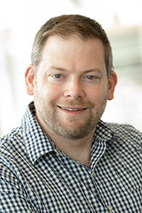 Kirk Bergstrom, assistant professor of biology in the Irving K. Barber Faculty of Science.