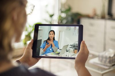 The survey showed that 80 per cent of respondents indicated a willingness to use telehealth for follow-up appointments as part of their Parkinson's treatment.