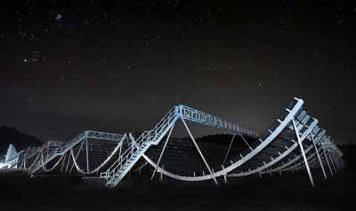 The Okanagan-based CHIME radio telescope detected a fast radio burst from within the Milky Way in April 2020.