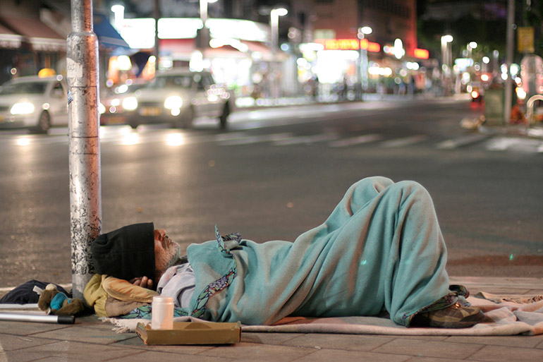 School of Social Work Director John Graham says that homeless people under the age of 65 have a mortality rate five to 10 times higher compared to the general population.