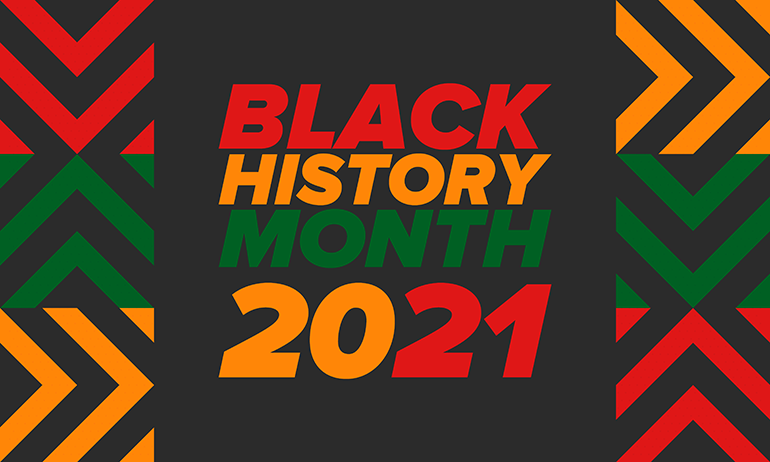 Black History Month 2021 graphic