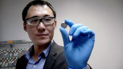 Dr. Jian Liu conducts research in materials and interface design for next-generation battery technologies.