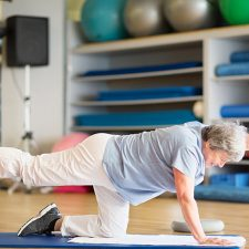 Collective evidence suggests exercise can reduce fall rates in older adults by 21 per cent.