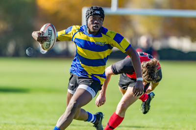 UBC Okanagan Heat Men's Rugby team is one of the fundraising projects for Giving Day. An additional $500 will be unlocked when a specific challenge is completed.