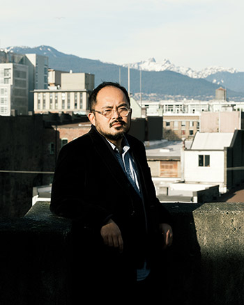 Writer Kevin Chong will host UBCO's Sharon Thesen Lecture virtually on Thursday.