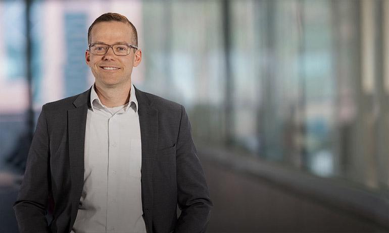 UBC Okanagan's 2021 Health Researcher of the Year Jonathan Little.